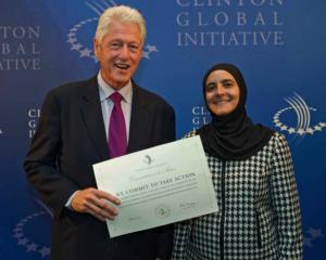 د.الدجاني عضوة في مبادرة كلنتون العالمية 2010