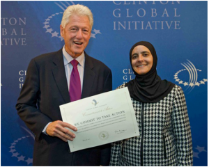 Dr. Dajani has a membership to the Clinton Global Initiative 2010