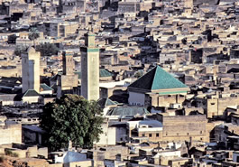 TOR EIGELAND Two years before Leo was born in 1494, his family fled the Spanish conquest of Granada and settled in Fez, Morocco, where Leo attended school at the Karaouine Mosque. Its minaret, above, remains a leading landmark of the city.