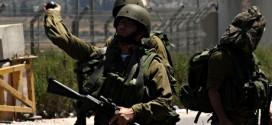 Protest in Nablus against Israeli attacks