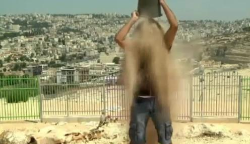 DustBucket-Challenge-for-Gaza-Solidarity