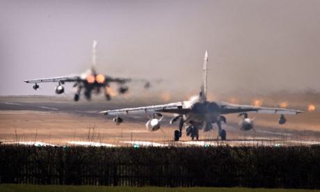 RAF Tornado aircraft