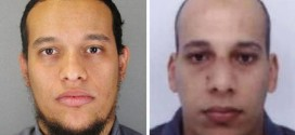 Kouachi brothers, who mass murdered 12 French journalists