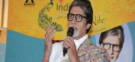 Indian Actor  Amitabh Bachchan at the  opening press conference in Egypt