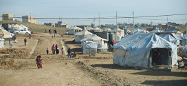 The Khanke IDP camp outside of Dohuk is home to more than 18,000 Yezidis and other Iraqi families who were displaced by the conflict.