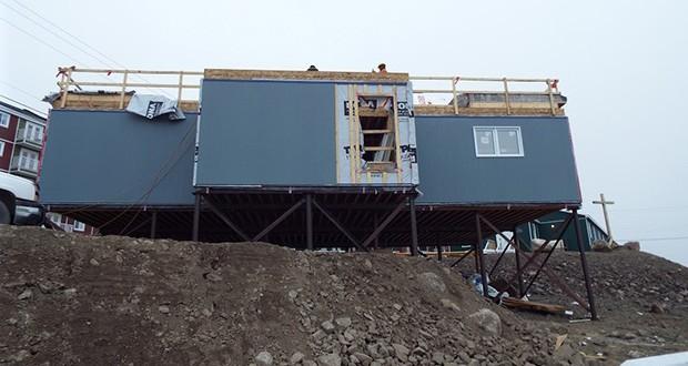 the mosque constructions In Iqaluit , Nunavut