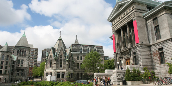 Classical University Buildings